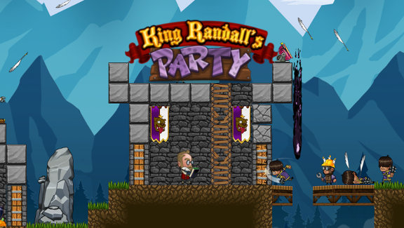 King Randall's Party Indie Video Game