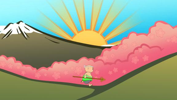 Marathon Monk XBox Live Video Game